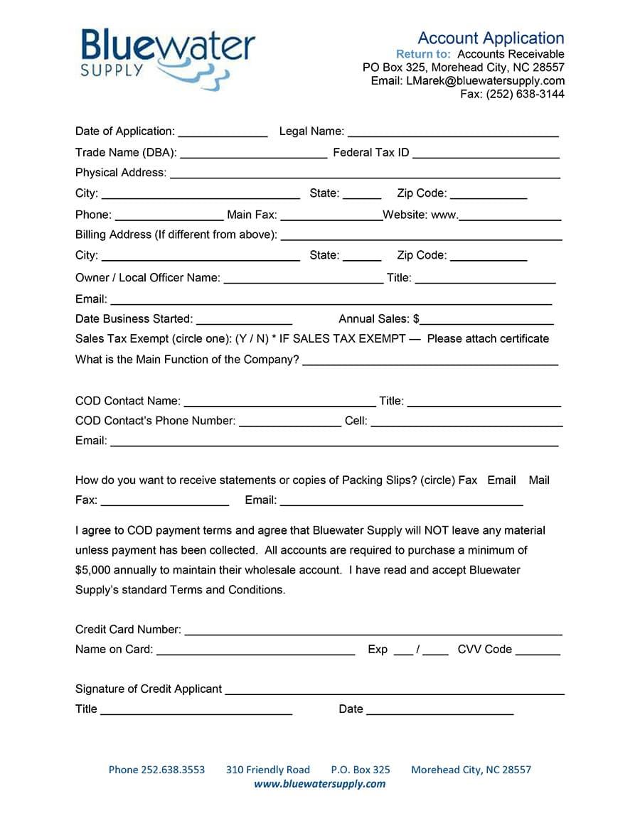 BWS COD Application